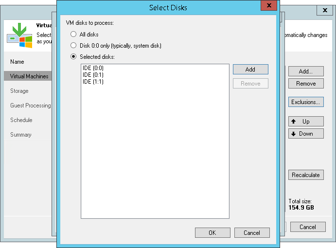 VMs and VM Disks