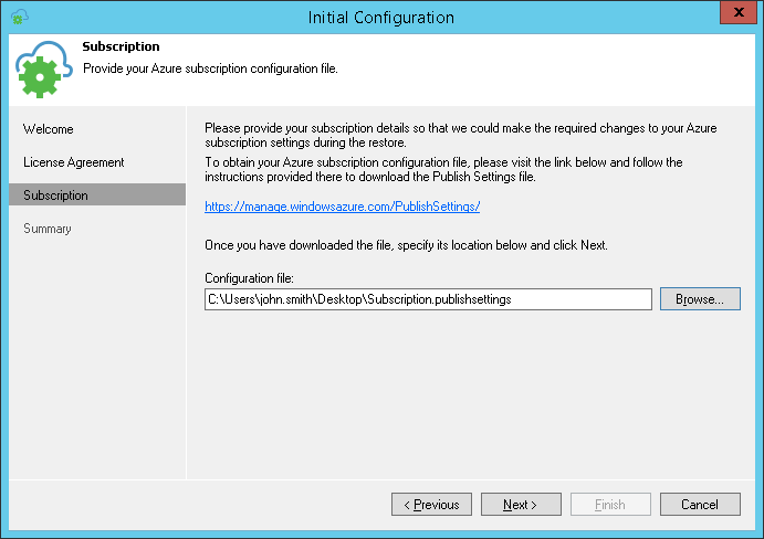 Configuring Veeam Appliance