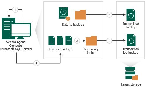 How Microsoft Sql Server Log Backup Works Veeam Agent