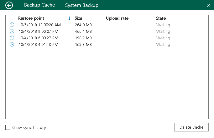 monitoring backup cache activity veeam agent for microsoft windows rh helpcenter veeam com Veeam's Competition Veeam Client