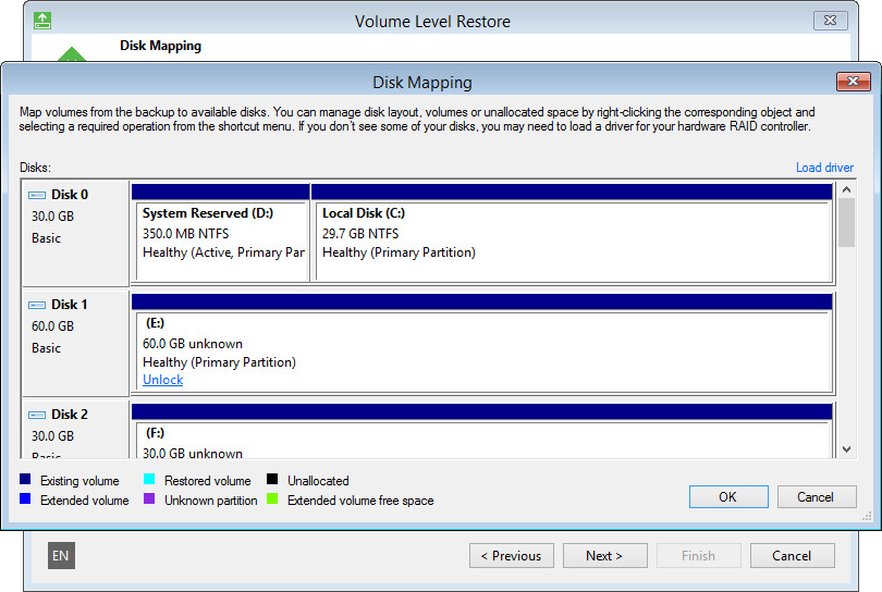 BitLocker Encrypted Volumes Support - Veeam Agent for