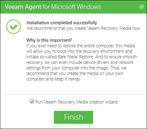 Step 1. Launch Create Recovery Media Wizard - Veeam Agent for ... faaaf0d9ebe7d