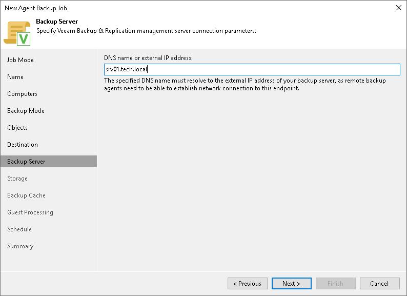 Veeam Backup Repository Settings - Veeam Agent Management Guide