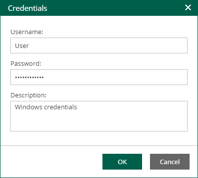 Guest OS Credentials - Veeam Backup Enterprise Manager Guide