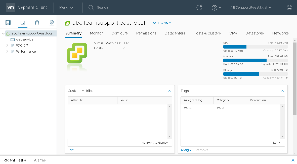 Controlling Backup Infrastructure with vSphere Web Client