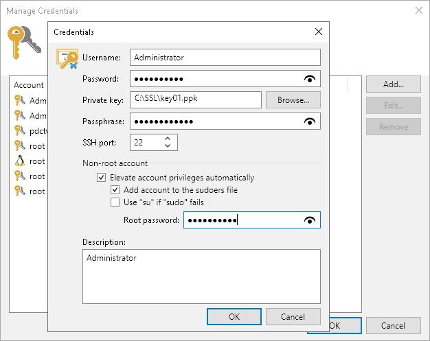 Linux Private Keys (Identity/Pubkey) - Veeam Backup Guide for Hyper-V
