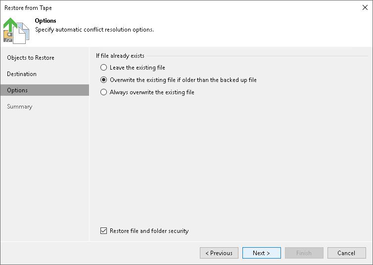 Step 4  Specify Restore Options - Veeam Backup Guide for Hyper-V