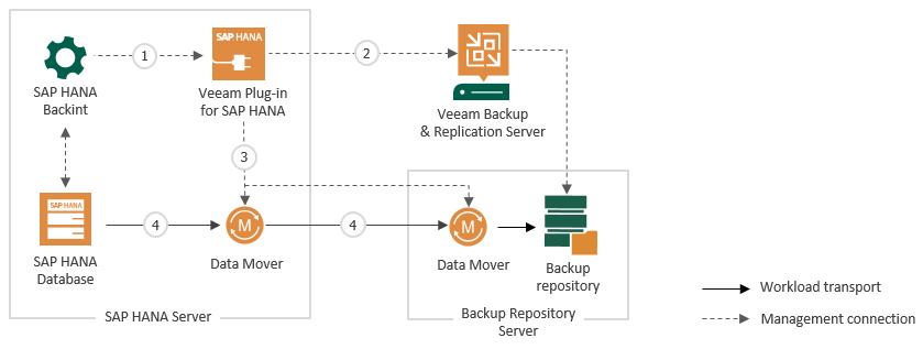How Veeam Plug-in for SAP HANA Works - Veeam Plug-ins for