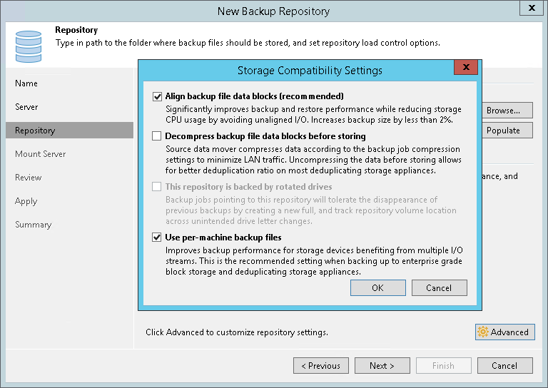 Step 4  Configure Path and Load Control Settings - Veeam Backup
