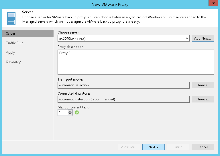 windows server step 2 choose microsoft windows server veeam backup guide for