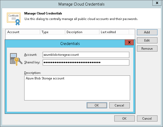Microsoft Azure Storage Accounts - Veeam Backup Guide for