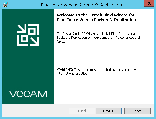 Installing Storage System Plug-Ins - Veeam Backup Guide for