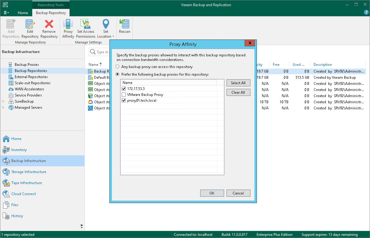 Proxy Affinity - Veeam Backup Guide for vSphere