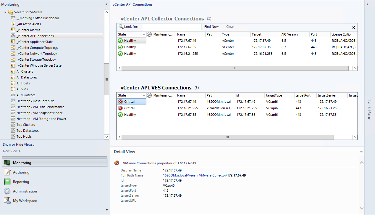 summary dashboards veeam mp for vmware user guides rh helpcenter veeam com Veeam Tape On IBM Conference Veeam Box