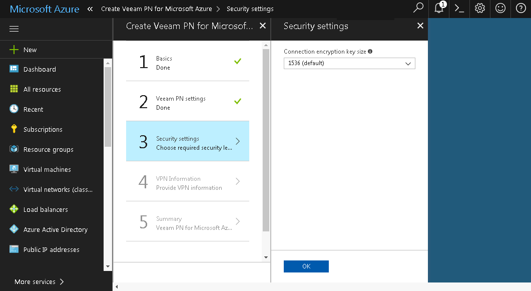 Set Up VPN Between Microsoft Azure and Local Sites - Veeam